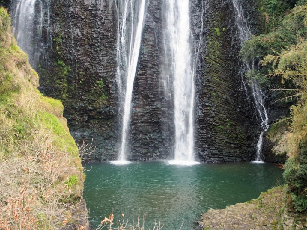 龍門滝の滝つぼ