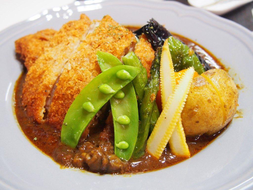 野菜3種カツカレー
