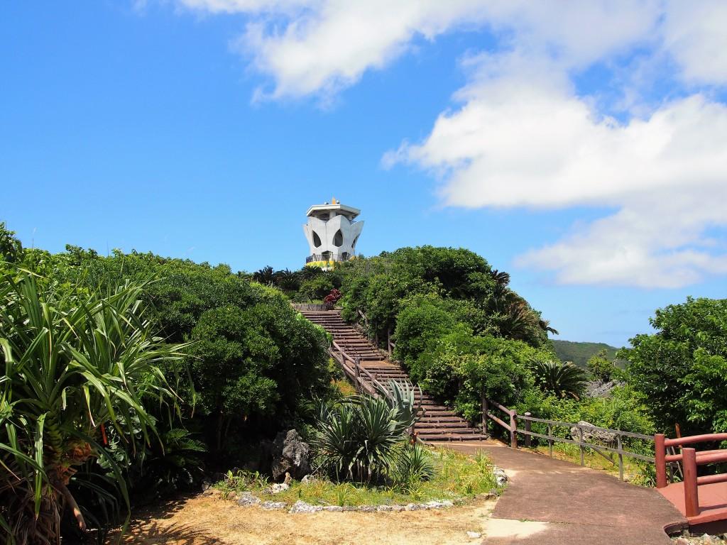 笠石海浜公園の展望タワー