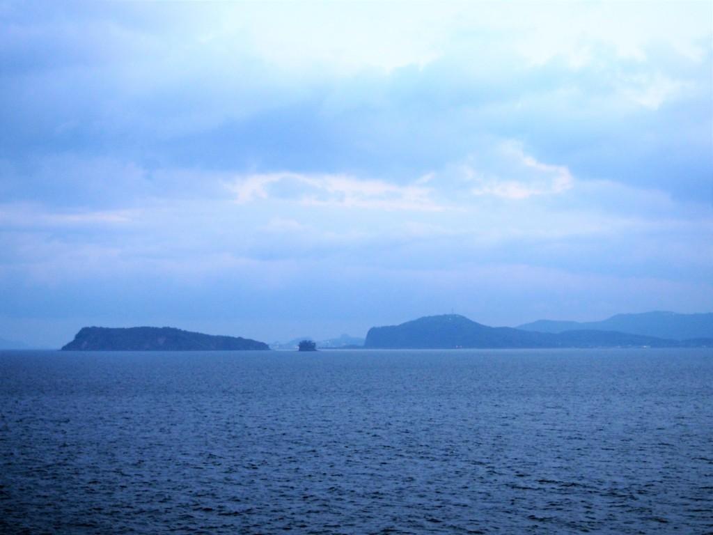 知林ヶ島と魚見岳