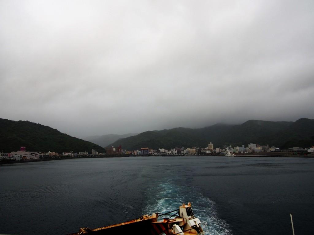 奄美大島の名瀬港