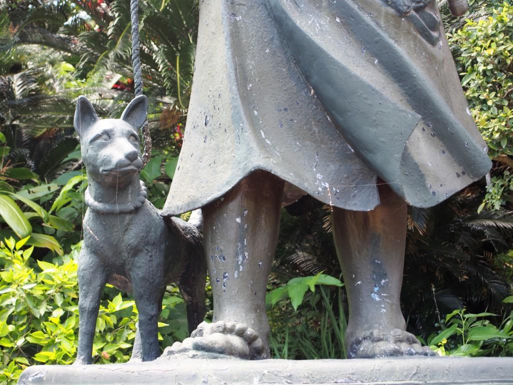 沖永良部島の西郷隆盛銅像