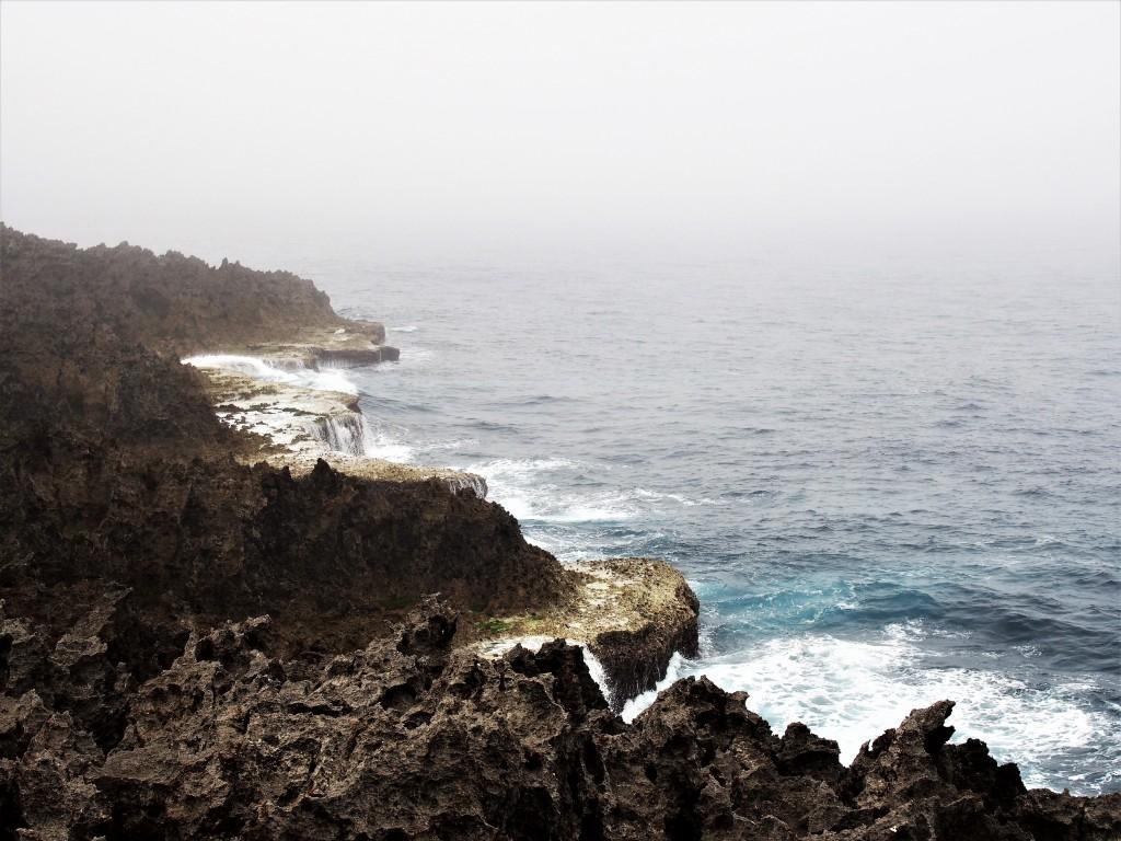 沖永良部島のフーチャ付近の海岸