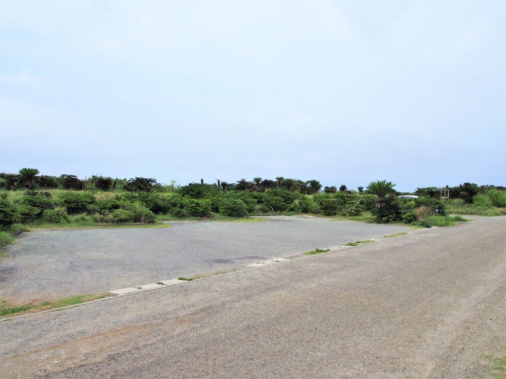 田皆岬の駐車場