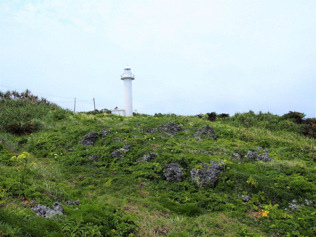 田皆岬から見た灯台