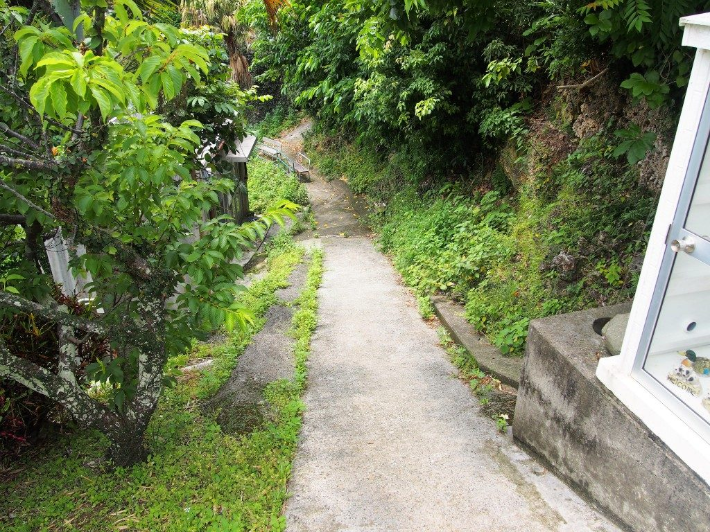 住吉暗川の階段