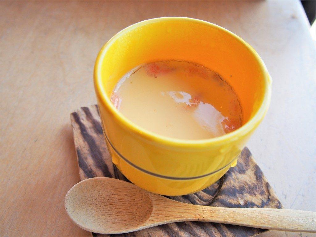 笠沙恵比寿の茶碗蒸し