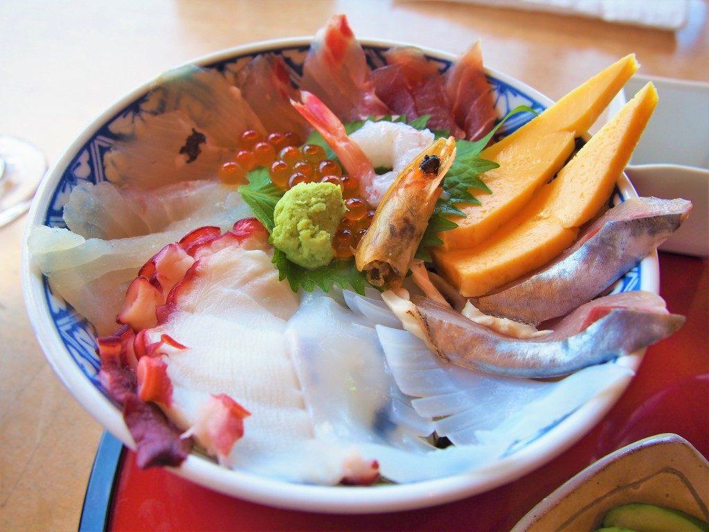 笠沙恵比寿の海鮮丼