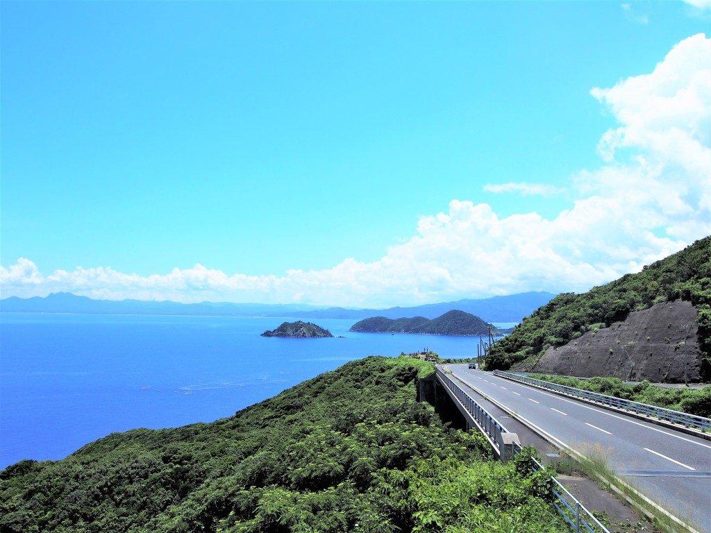 高崎山展望所からの景色