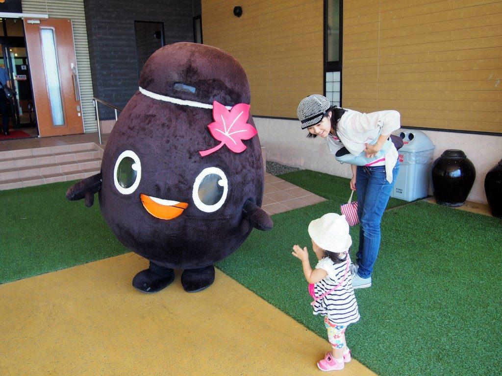 黒酢の里「桷志田」のマスコットキャラクター