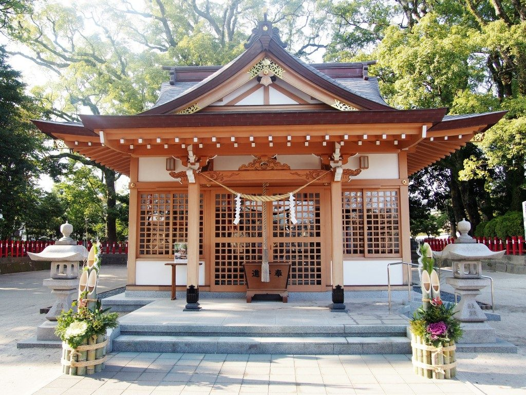 一之宮神社の社殿