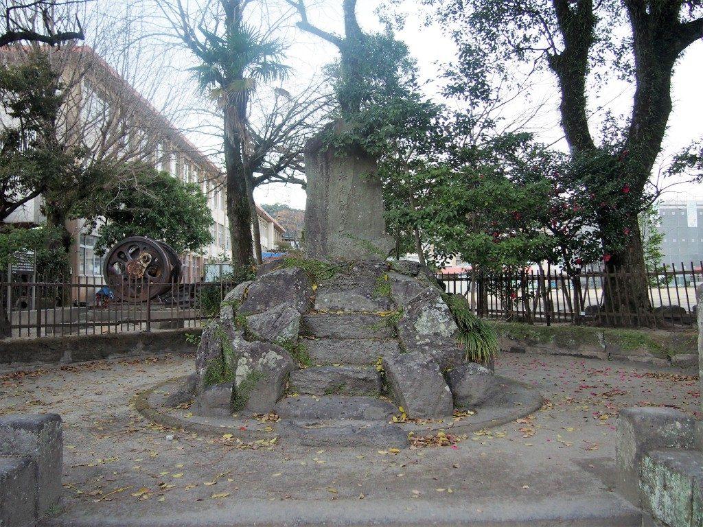 大龍寺跡の石碑