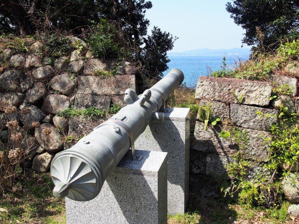 薩英戦争砲台跡