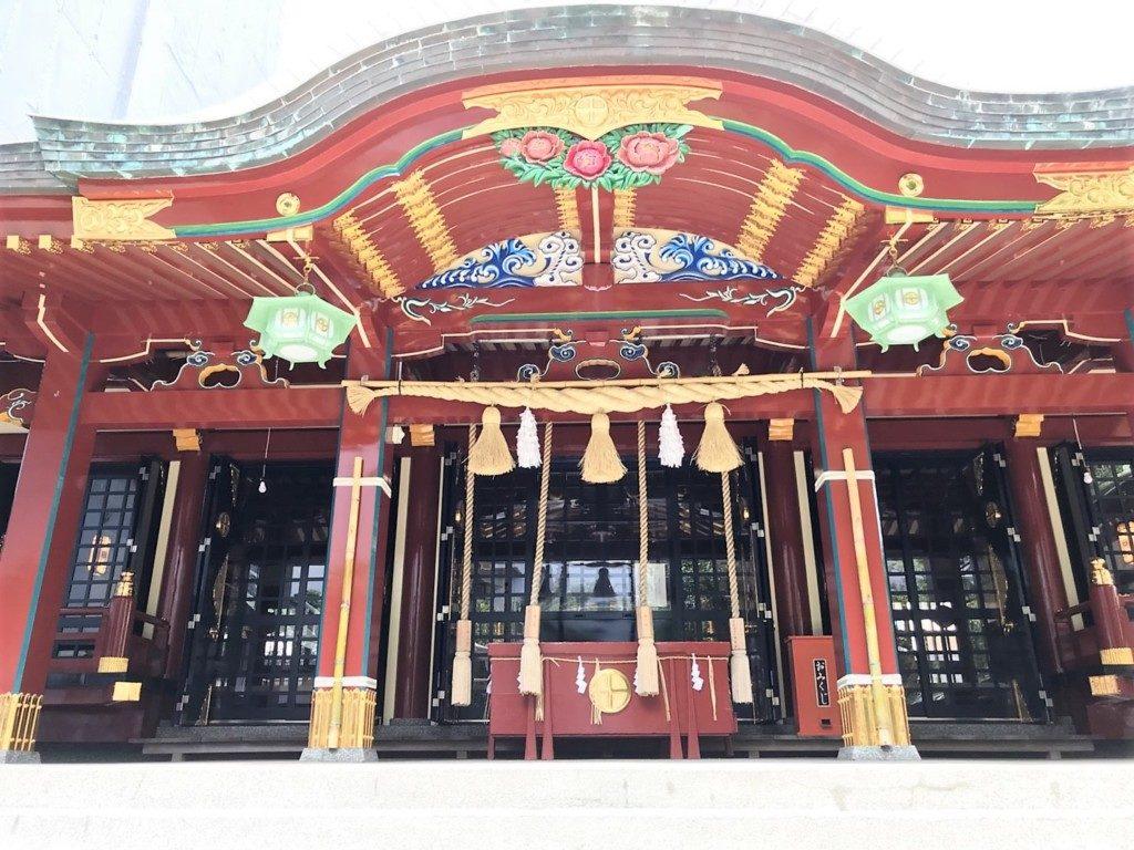 松原神社の社殿