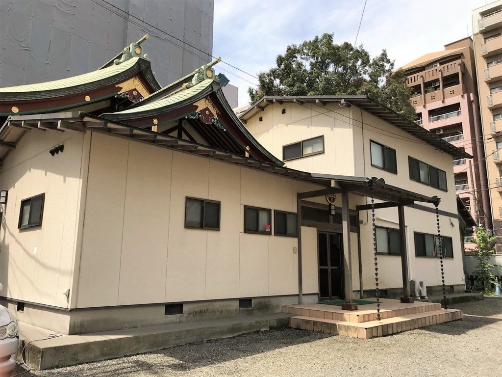 松原神社の社務所