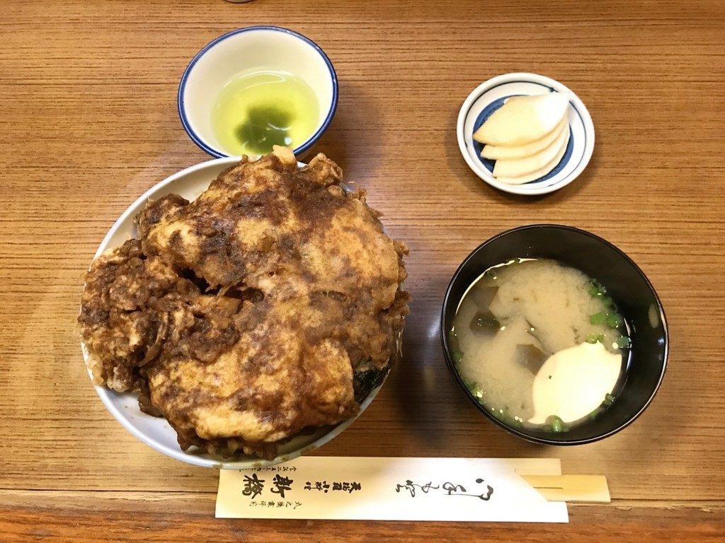 天ぷら新橋のかき揚げ丼
