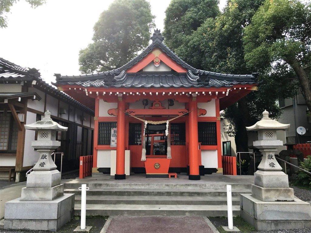 日枝鴨池山王神社の社殿