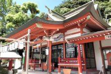 建部神社の社殿