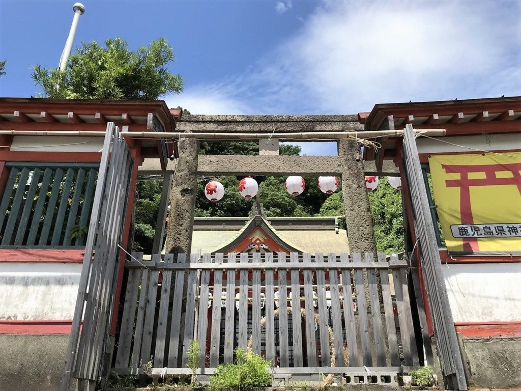 建部神社の鳥居