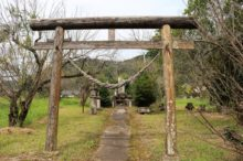 入来武家屋敷群の赤城神社