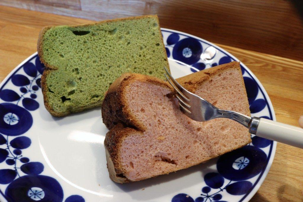 アラミニッツのシフォンケーキ