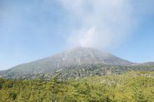 有村溶岩展望所の桜島