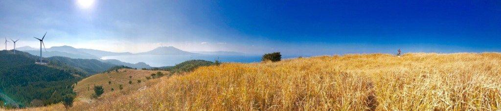 狐ヶ丘高原のパノラマ