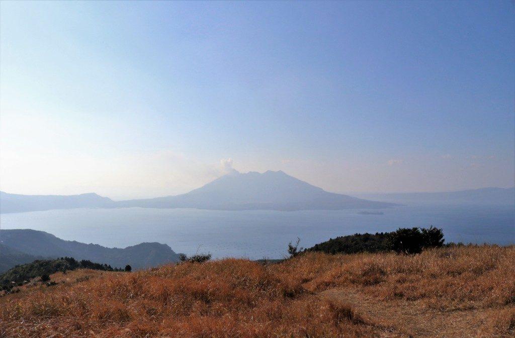 狐ヶ丘高原の桜島
