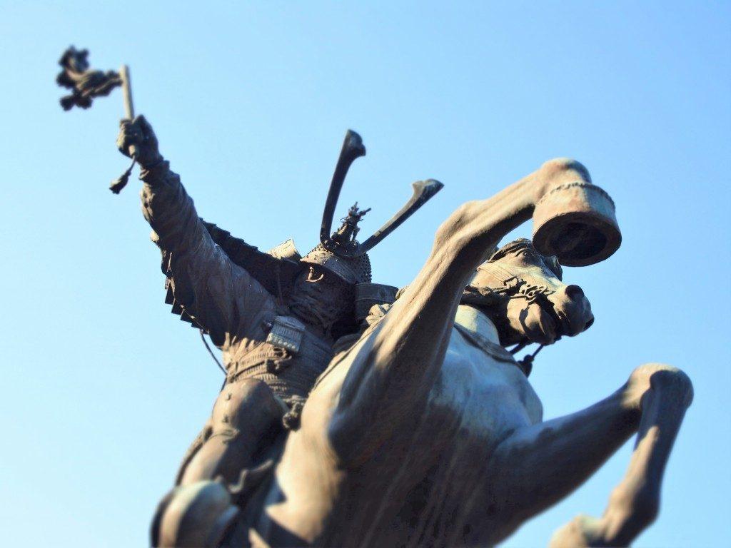 島津義弘公騎馬像