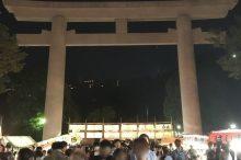 照国神社の六月灯祭り