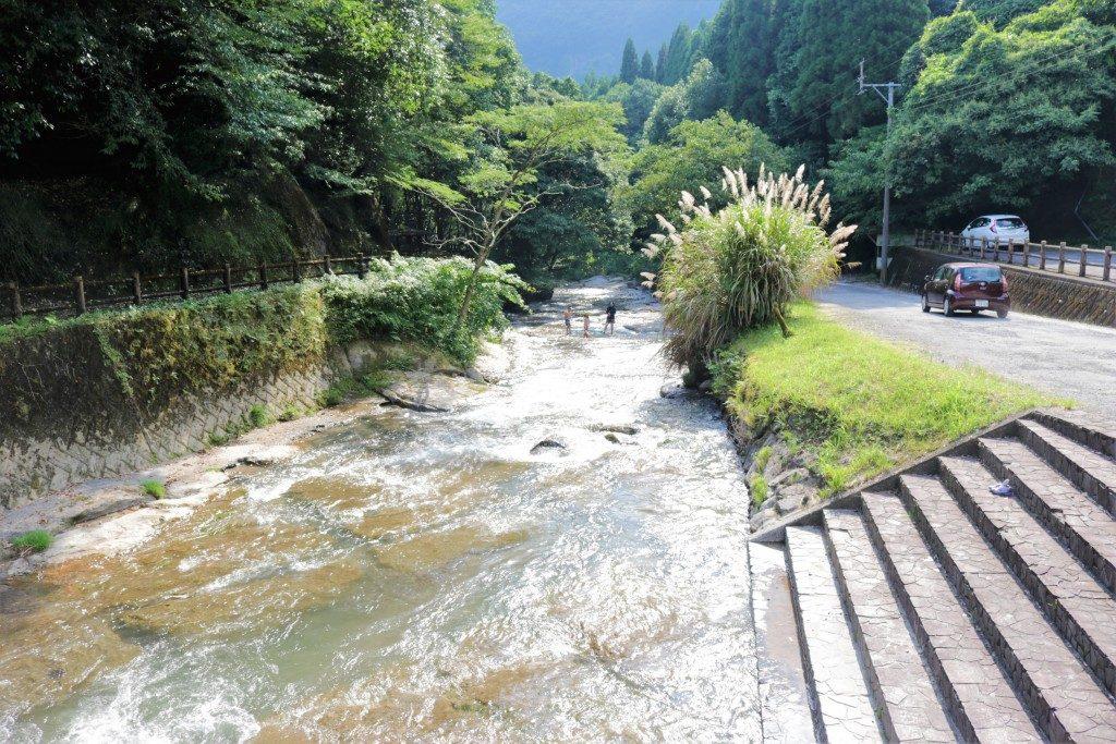 台明寺渓流公園