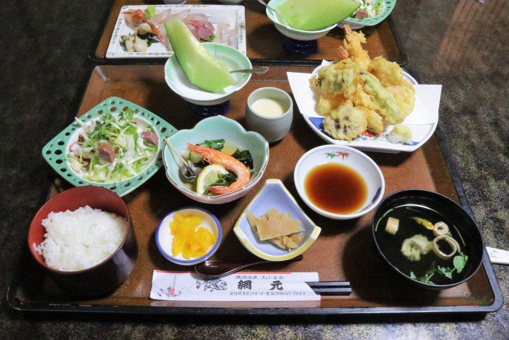 網元の天ぷら定食
