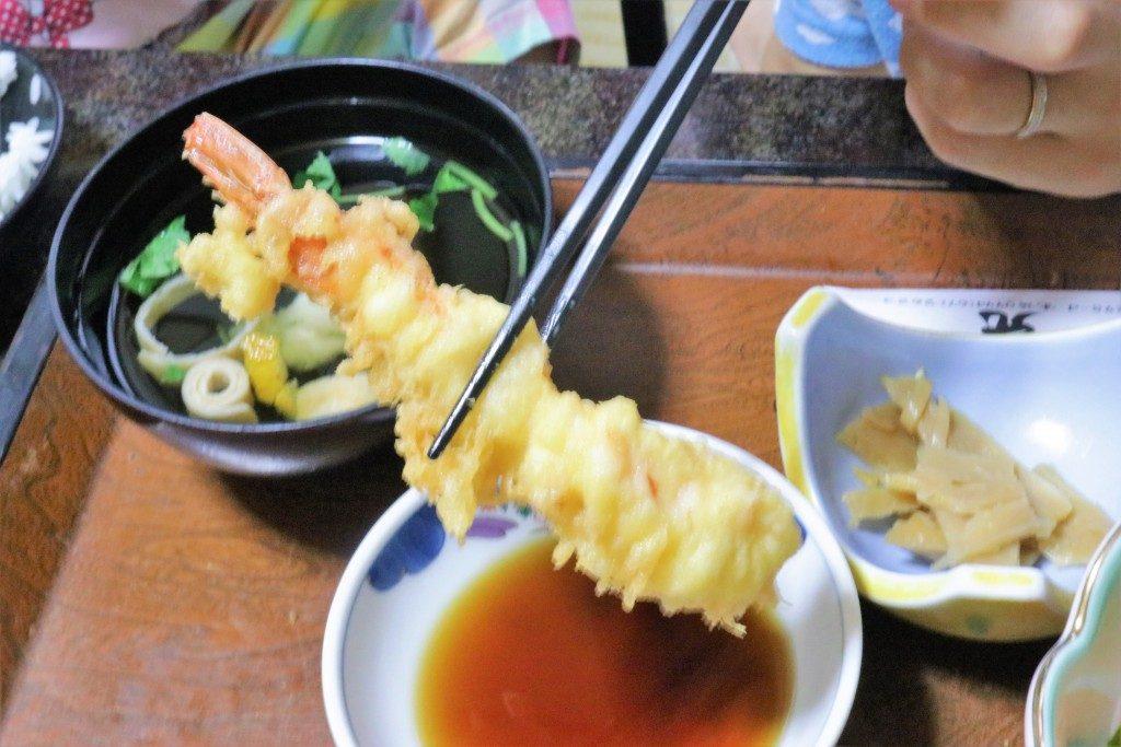 網元の天ぷら