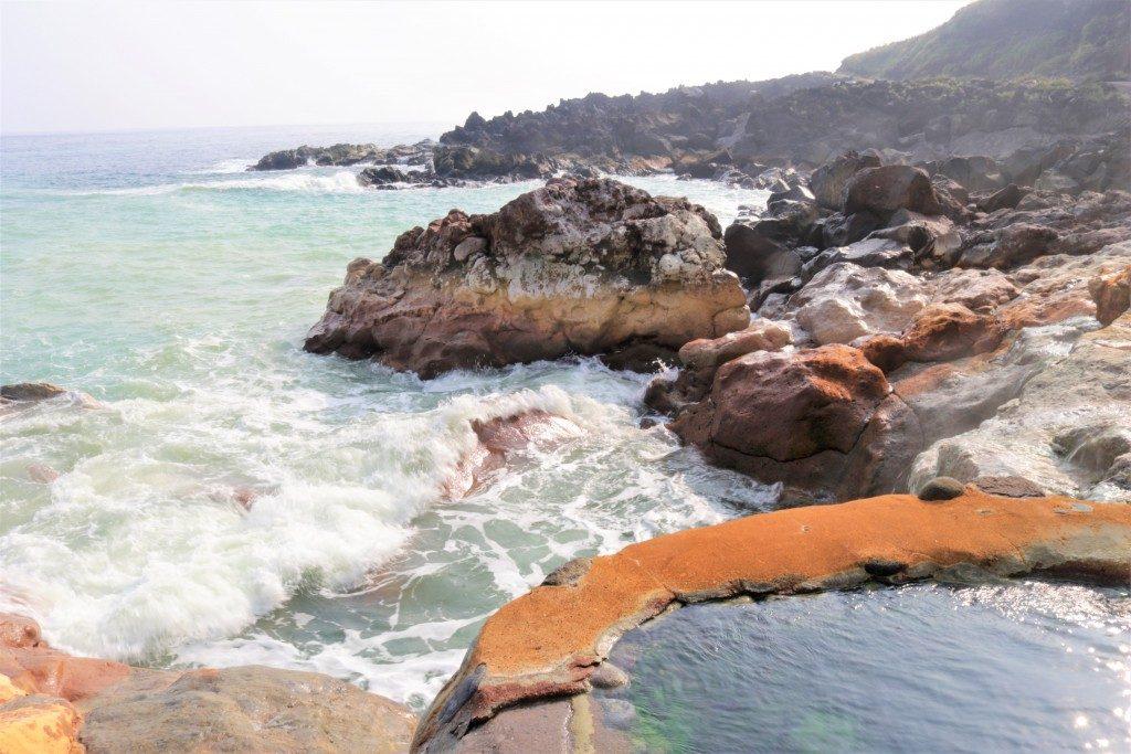 東温泉(鹿児島県硫黄島)