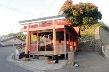 山宮神社(鹿児島市桜島)