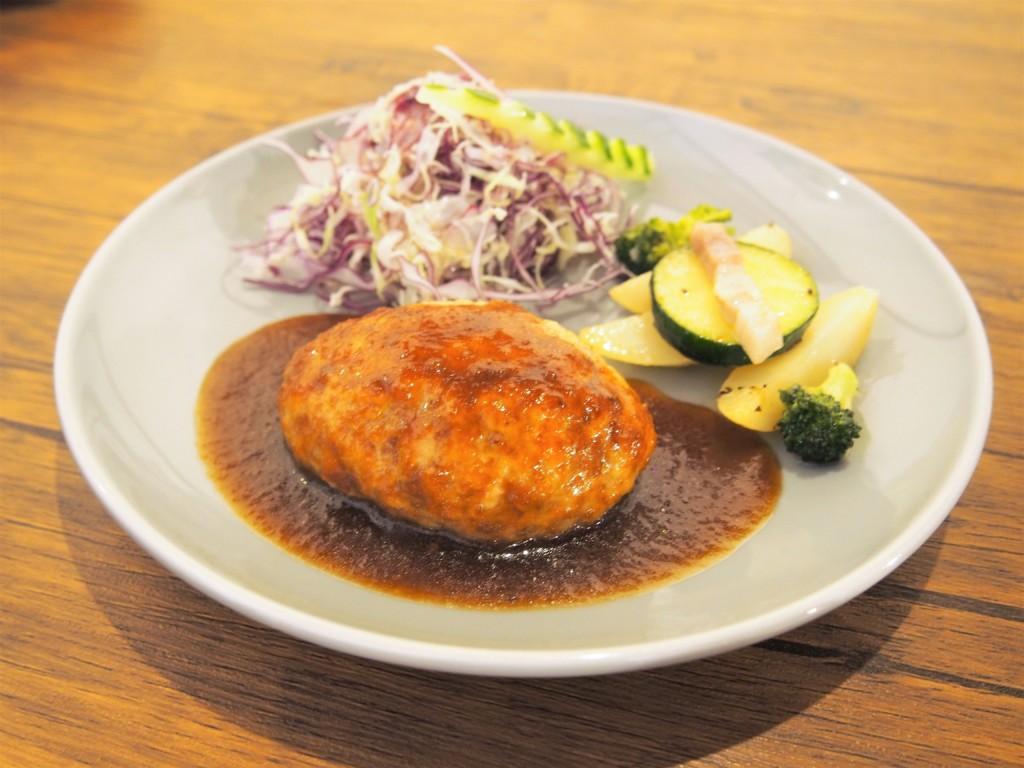 トキタマカフェ 和風ハンバーグ
