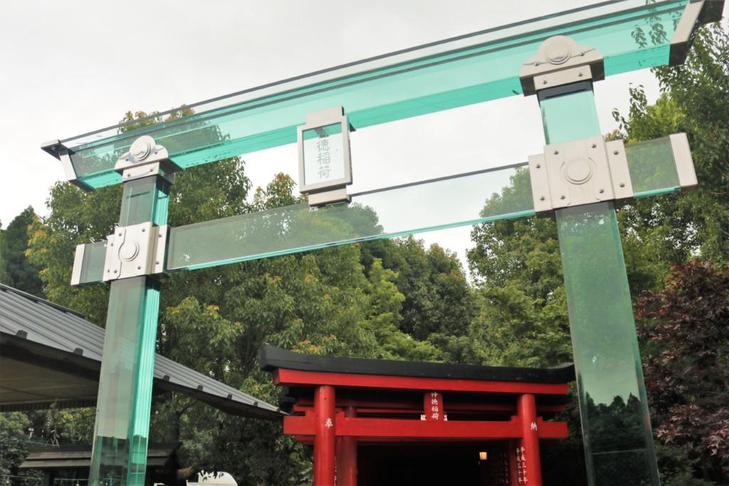 神徳稲荷神社の鳥居