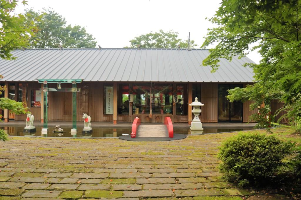 神徳稲荷神社の社務所