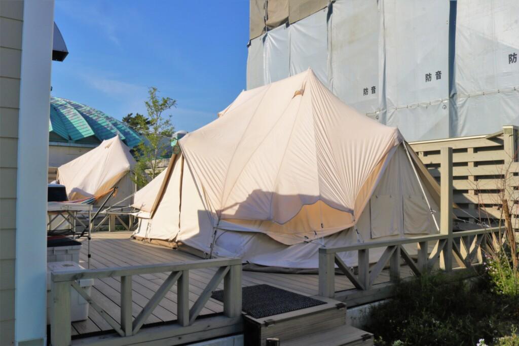 吹上浜フィールドホテルのテントルーム