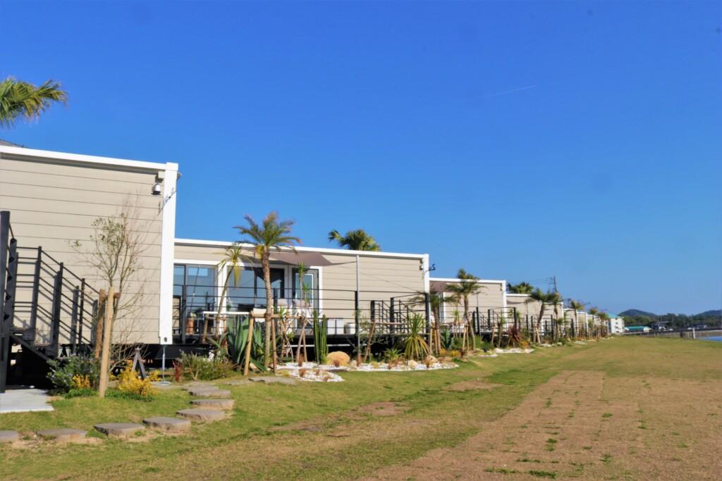 吹上浜フィールドホテルのトレーラールーム