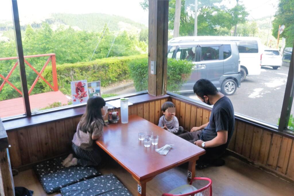 霧島峠茶屋のお座敷