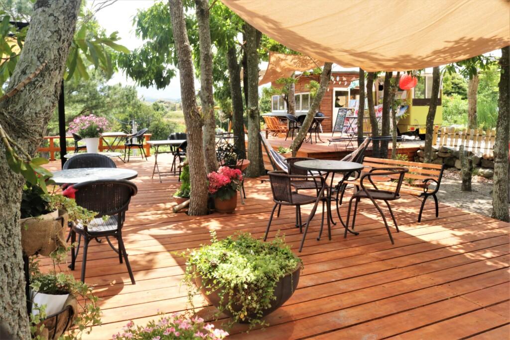 ひみつの花園 晴れ時々カフェ